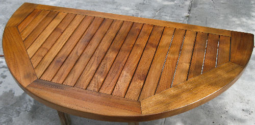 Handy Craftsman Paulus Van Beek! Teak Wood Outdoor Furniture Restoration  (863) 660 2444