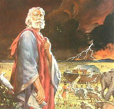 old testament disasters noah flood yahweh s covenant of