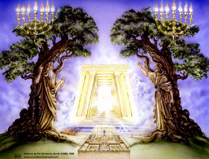 The two End Time Tribulation Witnesses-Prophets ...