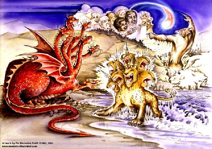 The three beasts & 666